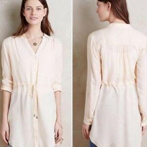 Anthropologie HD in Paris Drawstring Shirt Dress